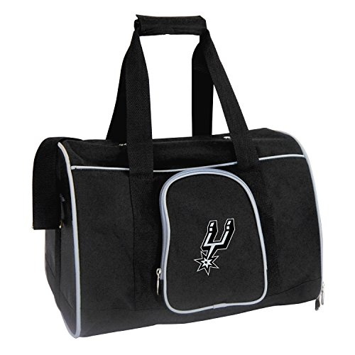 Denco NBA San Antonio Spurs Premium Pet Carrier ()