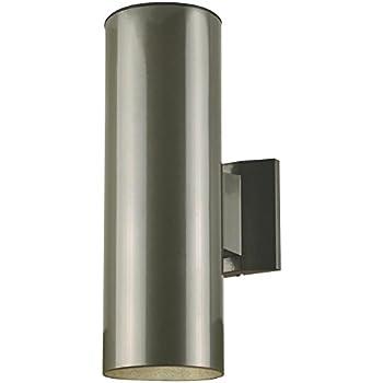 Hyperikon Led Porch Sconce Cylinder Light 12w Black