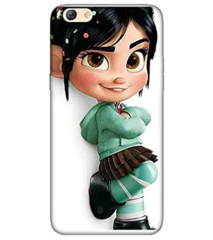 For Oppo F3 Girl Cartoon Girl 3d Girl Cute Girl Amazon In