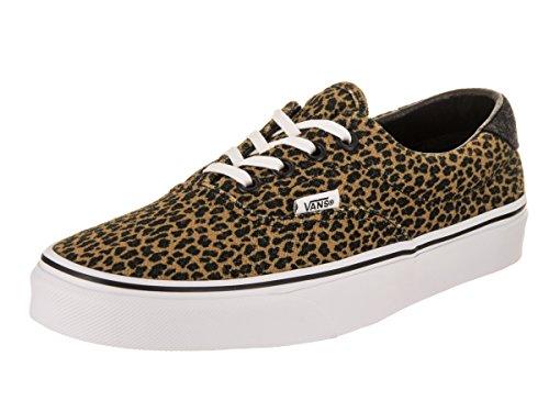 Fourgonnettes Unisexe Era 59 (mini Léopard) Chaussure De Skate Marron / True White
