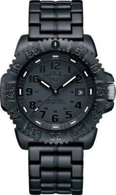 Luminox A3052BO Colormark Mens Watch- Black Dial Carbon Reinforced Case Quartz Movement