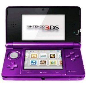 Nintendo 3DS Portable Gaming Console - Purple by Nintendo