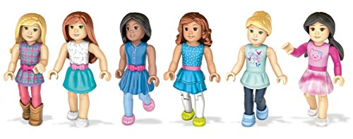 Mega Contrux American Girl Collectible Figures Bundle