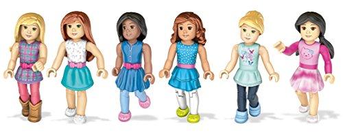 Mega Contrux American Girl Collectible Figures Bundle