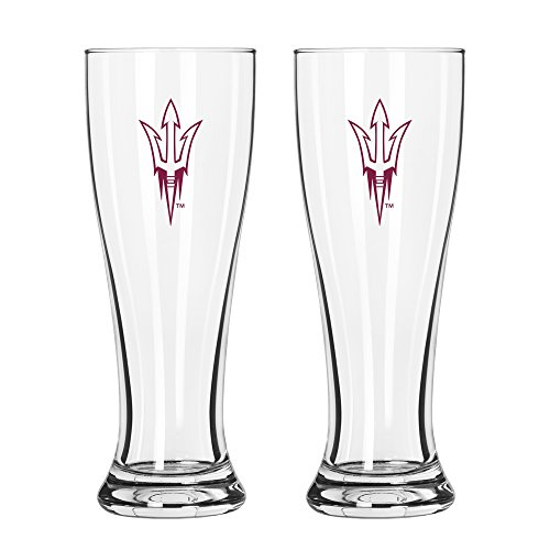 NCAA Arizona State Sun Devils Game Day Pilsner, 16-ounce, 2-Pack