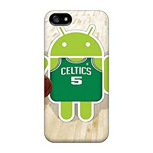 Cute High Quality Iphone 5/5s Celtics Case by runtopwell