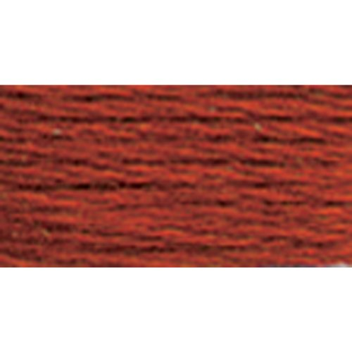 DMC 117-919 6 Strand Embroidery Cotton Floss, Red Copper, - Floss Strand Cotton Six