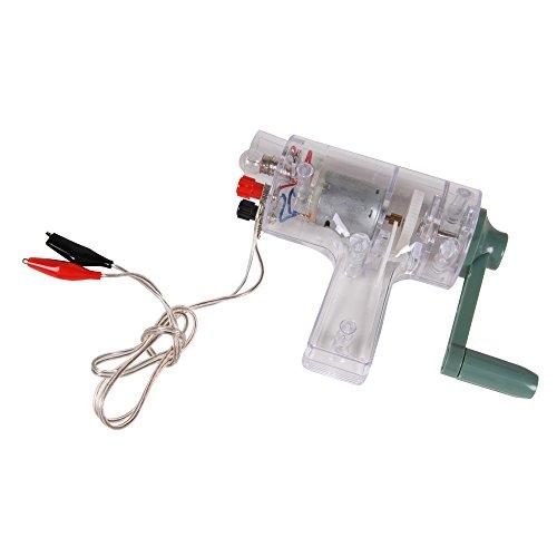 Generator Electric Circuit - hand2mind Handheld DC Crank Generator