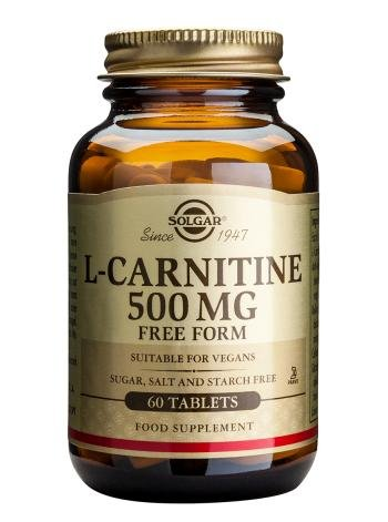 Solgar - Maxi L-Carnitine, 500 mg, 60 tablets
