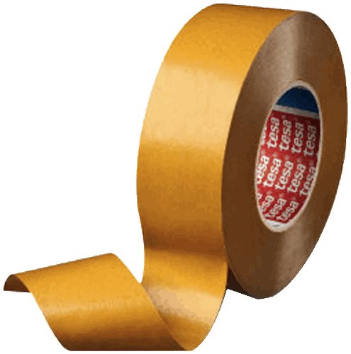 Tesa 51970 Tackified Acrylic Double Sided Filmic Tape, 55 yard Length, 1'' Width, 8 mil Thick, Transparent (Pack of 1) by Tesa