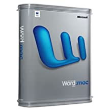 Microsoft Word 2004 Upgrade (Mac)