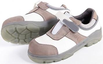Otter 98416 Blanc Chaussures De Sécurité Bottes De Travail Cuisine