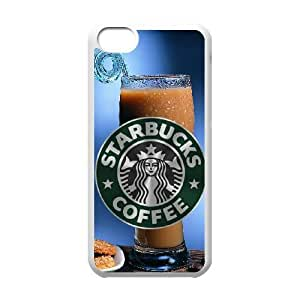Starbucks iPhone 5c Cell Phone Case White aute