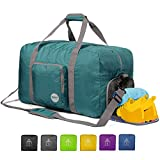 24' Foldable Duffle Bag 60L for Travel Gym Sports Lightweight Luggage...