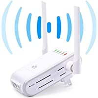 KINGMAS 300Mbps Multi-function Mini Wireless-N WiFi Range Extender Signal Booster 802.11n/b/g Network Repeater/Router/AP with WPS