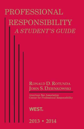 Professional Responsibility (Student Guides)