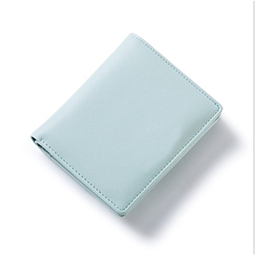 Light Wallets Pure Case Short Business Small Wallet Letter Useful Purse Canviukk Womens Color Green Card BORAqBxTw