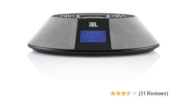 amazon com jbl on time 200p loudspeaker ipod dock and clock radio rh amazon com JBL Logo JBL iPod Dock On Time