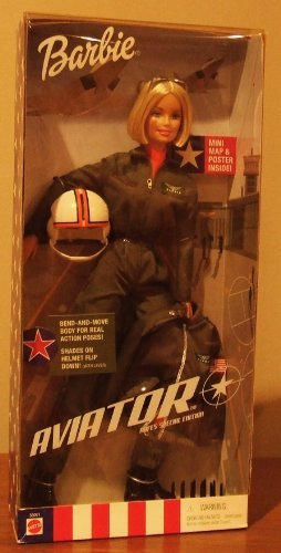 (2001 Aviator AAFES Special Edition Barbie )