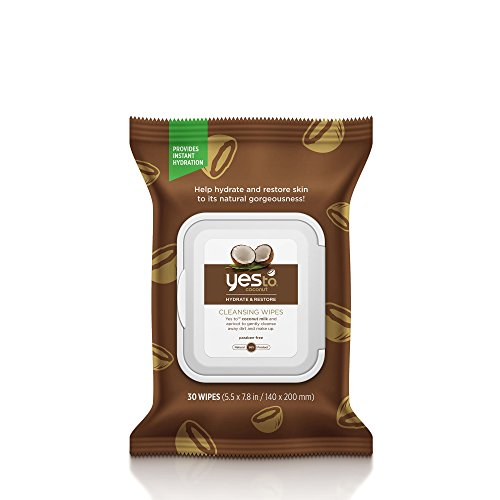 Yes Coconut Cleansing Wipes Brown product image