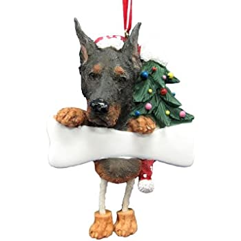 Amazon.com: Doberman Ornament with Unique