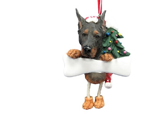 Ornament Doberman - Doberman Ornament with Unique