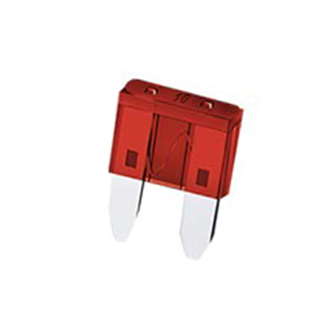 Aodesy ATM-10 10A Fast Acting ATM Mini Blade Fuse for Automotive Car SUV Truck Red Pack of 50 Shenzhenshiaodesiwujinjidianyouxiangongsi