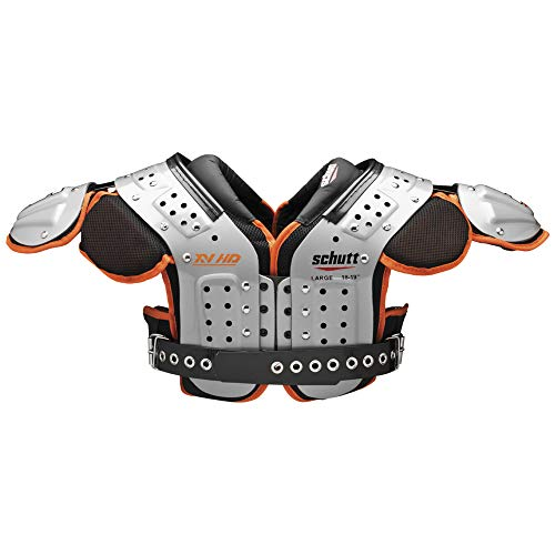 Schutt Sports Varsity XV HD OL/DL Shoulder Pad, Large (Best Ol In Nfl)