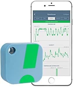 SensorPush Wireless Thermometer / Hygrometer for iPhone / Android - Humidity & Temperature Smart Sensor with Alerts