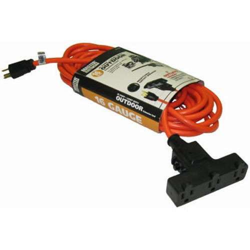 Alert Stamping Mfg-Import CST-50A 50-Ft. Outdoor Orange Extension Cord - Quantity 6, As Shown