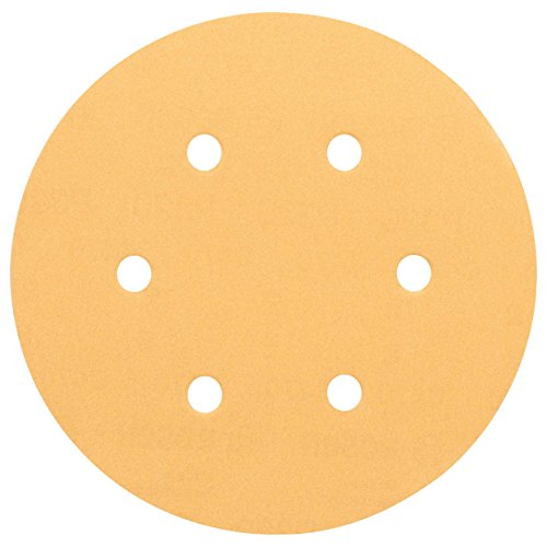 Bosch 2608605089-000, Disco de Lixa Grana 120, Amarelo, 5 Unidades