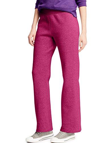Hanes Women`s ComfortSoft EcoSmart Petite Open Leg Sweatpant