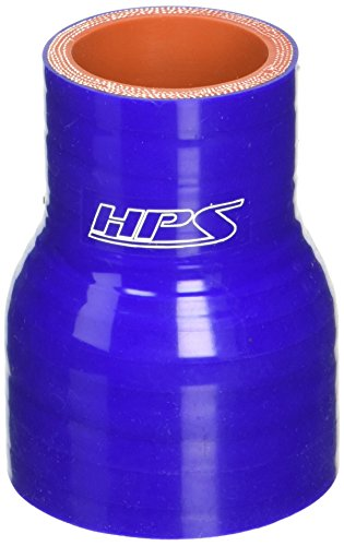 Blue HPS HTSR-325-350-BLUE Silicone High Temperature 4-ply Reinforced Reducer Coupler Hose 40 PSI Maximum Pressure 3-1//4  3-1//2 ID 3 Length