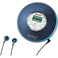 Sony D-NF420PSBLUE MP3/ATRAC3 Psyc CD Walkman with AM/FM Tuner (Blue)