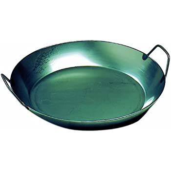 Amazon Com Matfer Bourgeat 062053 Black Steel Paella Pan