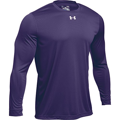 Under Armour Men's UA Locker 2.0 Long Sleeve Shirt (X-Large, Purple-Metallic ()