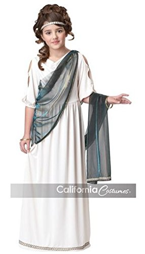 California Costumes Roman Princess Child Costume, (Roman Empress Halloween Costume)