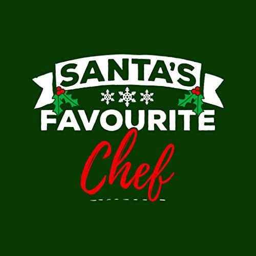 Chef Chef Bottle Green Sweatshirt Christmas Christmas Favourite Hooded Coto7 Women's Santas OqPHKH