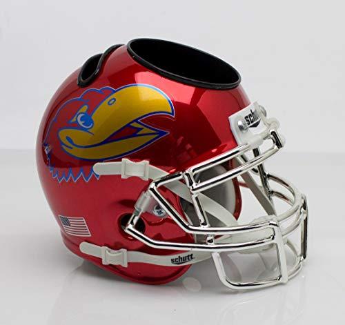 - NCAA Kansas Jayhawks Helmet Desk Caddy, One Size