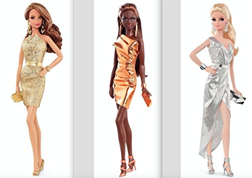 (The Barbie Look City Shine Trio Bundle - Silver, Gold and Bronze)