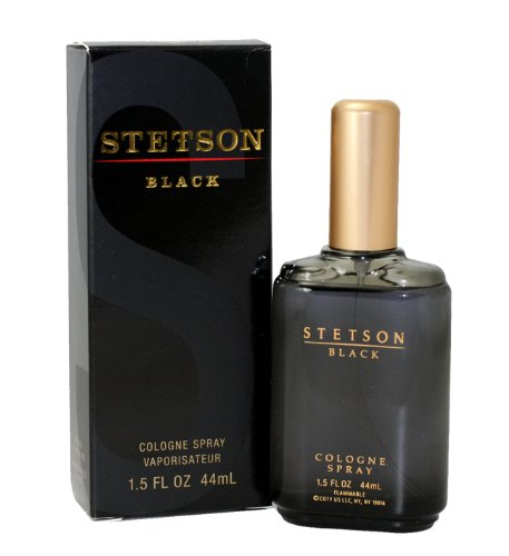 Stetson Black By Coty For Men. Cologne Spray 1.5-Ounces ()
