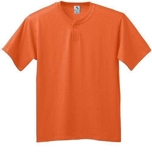 Augusta Poly-Cotton 2-Button Baseball/Softball Heavyweight 6-ounce Jersey Shirt