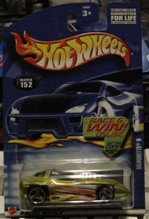Hot Wheels 2002-152 Silhouette II OLIVE Mainline by Hot ()