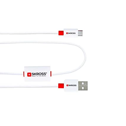 Skross BUZZ Micro USB charge & sync alarm cable for all devices with micro usb [SKR2700210]