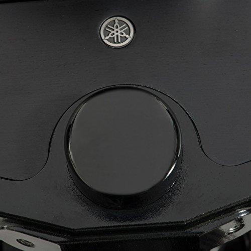 Fork Nut Covers (YAMAHA SCR950 BOLT C-SPEC BLACK STEERING NUT COVER FORK STEM CAP B33F31C0V000)