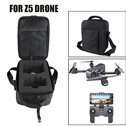 MOZATE SJ R/C Z5 GPS 1080P Wide-Angle Camera WiFi FPV RC Drone Quadcopter +Backpack (Black) by MOZATE (Image #2)
