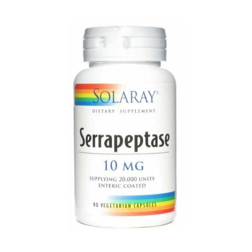 SM-SOLARAY-SERRAPEPTASE 90 Caps.: Amazon.es: Hogar