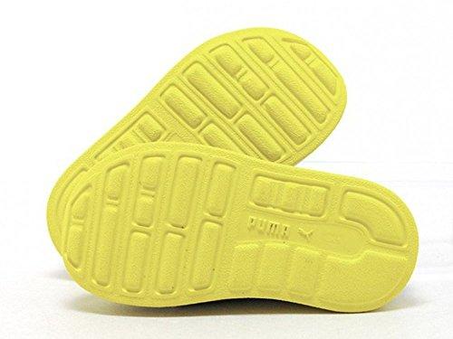 Puma - Escapines de Material Sintético para niño gris/amarillo 33 gris