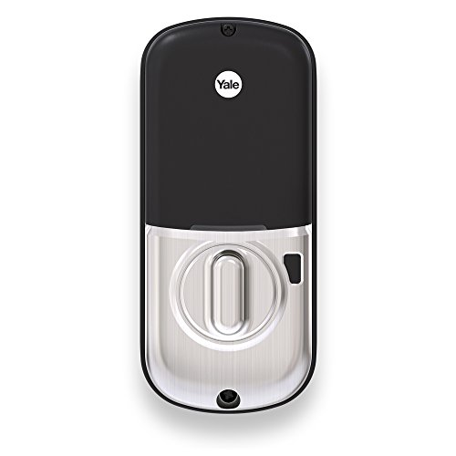 Yale Assure Lock Key Free Deadbolt with ZigBee in Satin Nickel - Works with Echo Plus, Samsung SmartThings, Wink and more (YRD246HA2619) by Yale Security (Image #1)