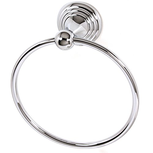 Alno A9040-PC Embassy Traditional Towel Rings, Polished (Alno Embassy Towel Bar)